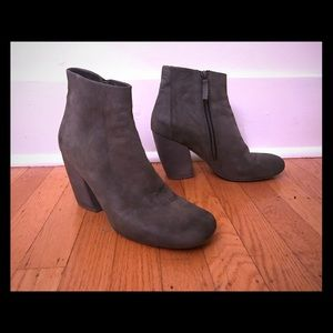 Marsell Shoes - Marsell Gray Leather Ankle Boot
