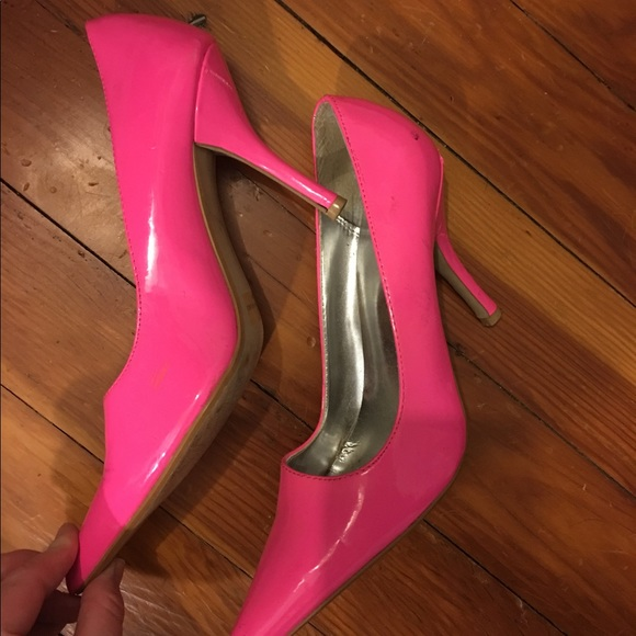 8598f02bd743 Very sexy HOT pink stiletto heels. M 58e5c6b3b4188e16880330aa