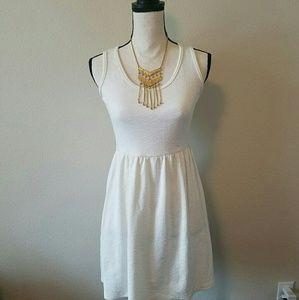 11thstreet Dresses & Skirts - White Skater Dress