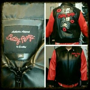 Exelle Jackets & Blazers - Awesome authentic  Betty Boop black & red jacket