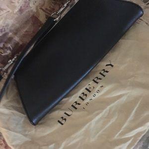 Burberry Handbags - Burberry cross body/clutch style w code/dust bag
