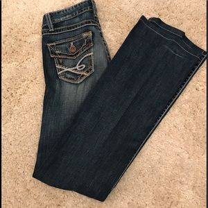 BKE Denim - BKE Jeans Stella Stretch Buckle Denim Frays Women