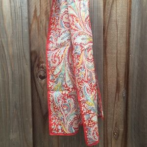 Liberty of London Accessories - Liberty of London rectangle vintage paisley scarf!