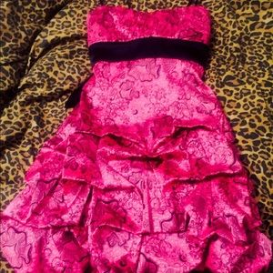 Dresses & Skirts - COUTURE SATIN FORMAL DRESS