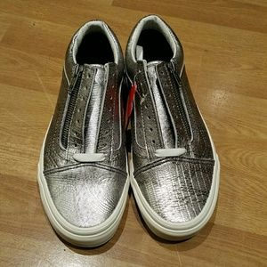 Womens Vans Old Skool Zip (DISCO PYTHON) NWT