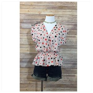 Audrey 3+1 Tops - AUDREY 3+1 peplum blouse