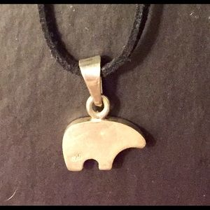 Northside Jewelry - Sterling Panda Bear Necklace Northwest Silver