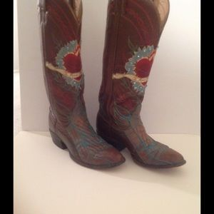 "Tony Lama Shoes - ❤THIS PAIR ROMANTIC TONY LAMA ""Te Amo Mucho"" Boots"