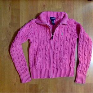 Ralph Lauren Other - Ralph Lauren zipper cable knit sweater