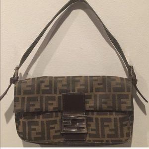 Fendi Handbags - FENDI Baquette Small Satchel