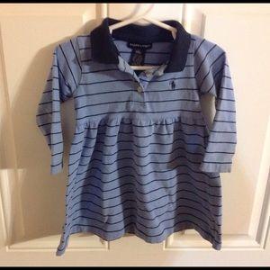 Ralph Lauren Other - Ralph Lauren blue and navy dress