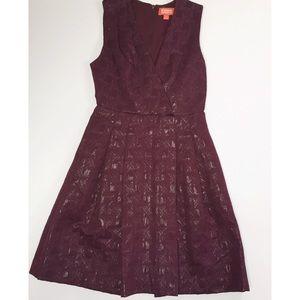 Kirna Zabete Dresses & Skirts - Kirna Zabete Burgundy Dress