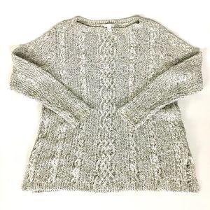 J. Jill Sweaters - J JILL Cable Knit Sweater