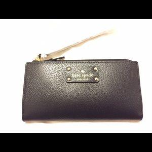 Kate Spade Layton Wellesley Leather Wallet Clutch