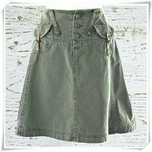 ♡ Tatuum ♡ cargo mini skirt