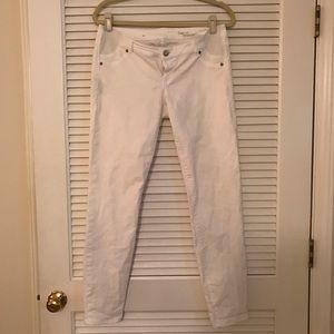 Gap White Maternity Jeans, sz28R