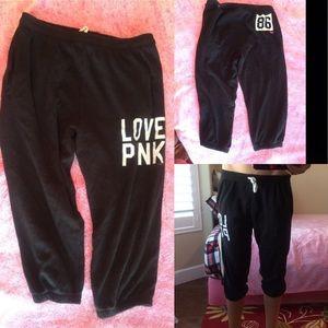 PINK Victoria's Secret Pants - 🆕VS Pink Capri sweats!