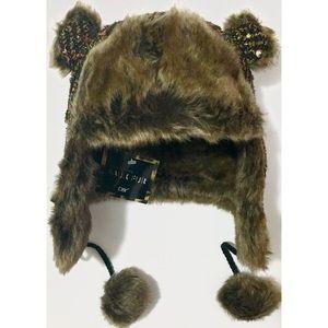 D&Y Accessories - Faux fur trapper hat