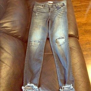 Cello jeans Denim - Brand new no tags blue distressed jeans 👖 size 13
