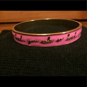 "Ban.do ""you rule so hard"" bracelet"