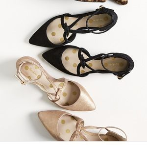 Boden Shoes - 2 for 1! Boden Strappy Bow Point Shoes