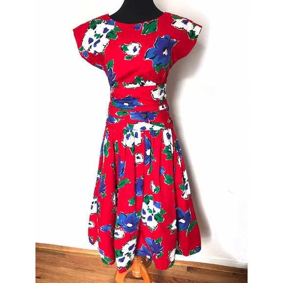 Vintage Dresses - Gorgeous vintage sundress with big bow