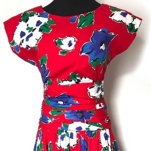 Vintage Dresses - Gorgeous vintage sundress with big bow