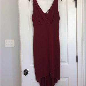 👗 beautiful beaded burgundy dress 👗