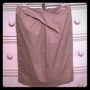 Michael Kors Khaki Pencil Skirt