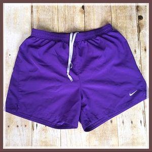 Nike Purple Running Shorts
