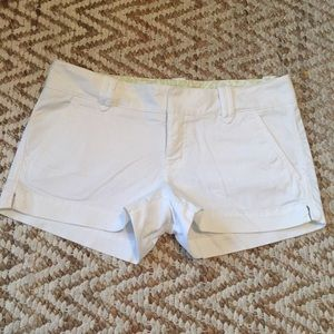 Express Pants - Express white Chino shorts