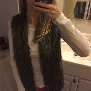 Super cute fur vest!