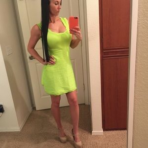 WOW couture Dresses & Skirts - Lime Green Bandage Dress 💚