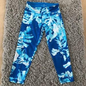 Adidas workout capri tights