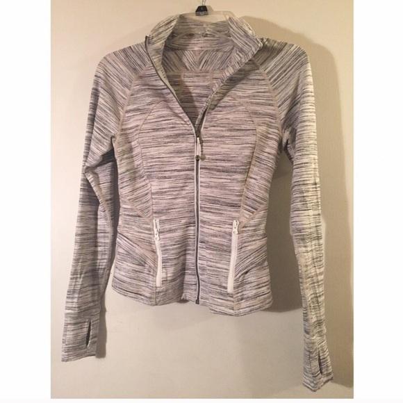 Lululemon jacket with ruffle details