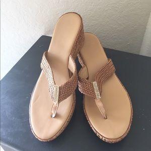 sotto sopra Shoes - Sotto Sopra woven wedge sandals