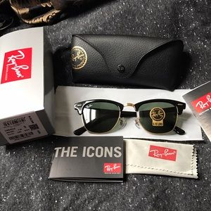 Ray-Ban Accessories - Brand new ray ban rb3016 clubmaster sunglasses
