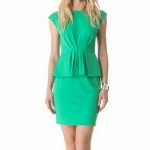 Shoshanna Dresses & Skirts - 💙SALE💚 Shoshanna Raven peplum green dress