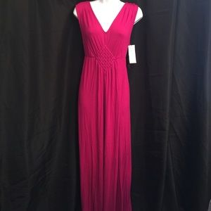Liz Lange sz M Maternity Maxi Dress