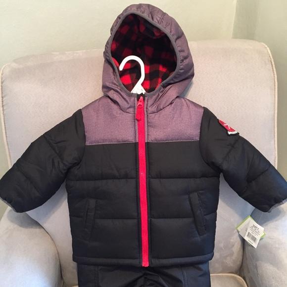19daf1d4e Carter's Jackets & Coats | Carters Snowsuitcoat Pants | Poshmark