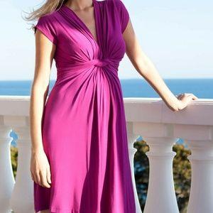 Seraphine Dresses & Skirts - Seraphine Fushia Maternity Dress