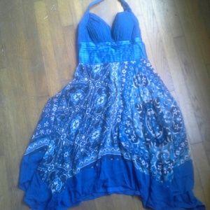 Sangria Dresses & Skirts - Dressy halter dress