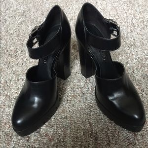 Zara High Heel Track Sole Shoes