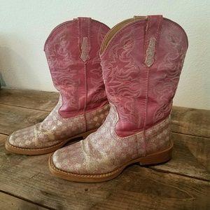 Roper Other - 🐙 Roper Checker Pink Glitter Boots