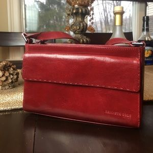 Kenneth Cole Handbags - NWT Kenneth Cole red leather purse