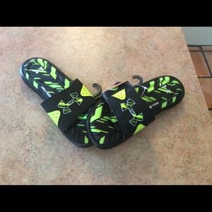 Under Armour Other - NWT men's under armour Ignite banshee slides