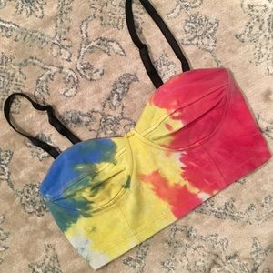 Tops - Custom dyed crop top for @chunkyfunk58