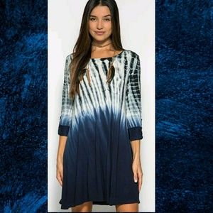 She and Sky Dresses & Skirts - OMBRE SWING DRESS
