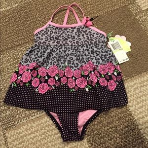 Hula Star Rosie day one piece girl swimsuit