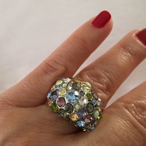 Jewelry - ❗️Crystal dome ring❗️